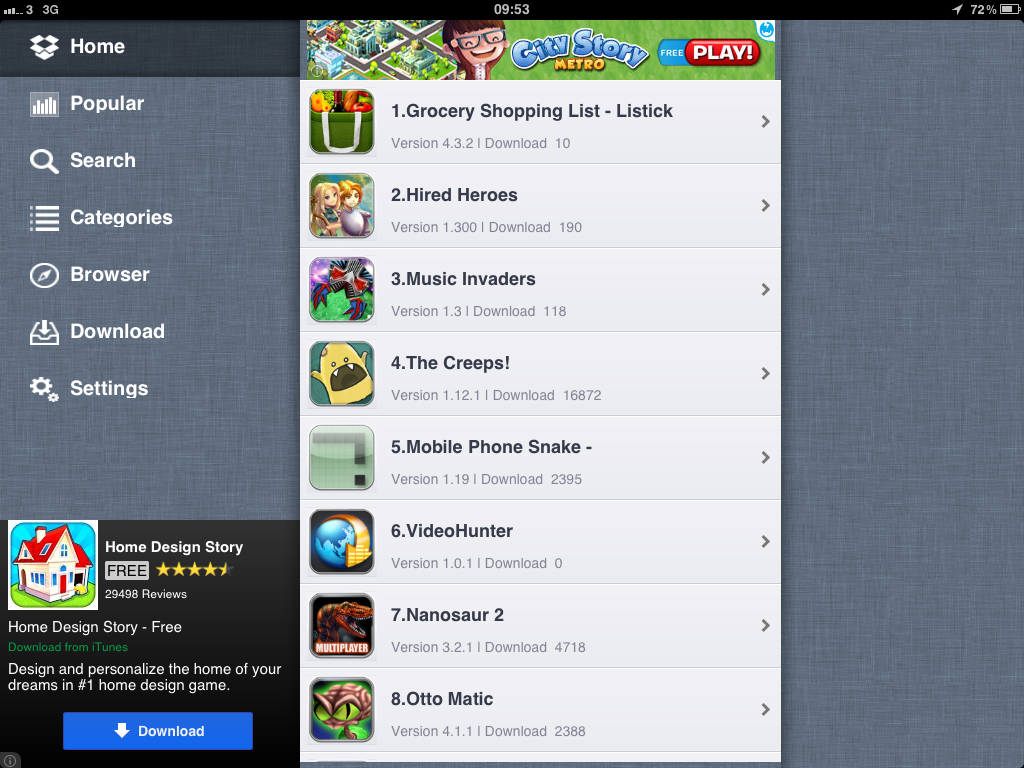 Installous for iPhone and iPad